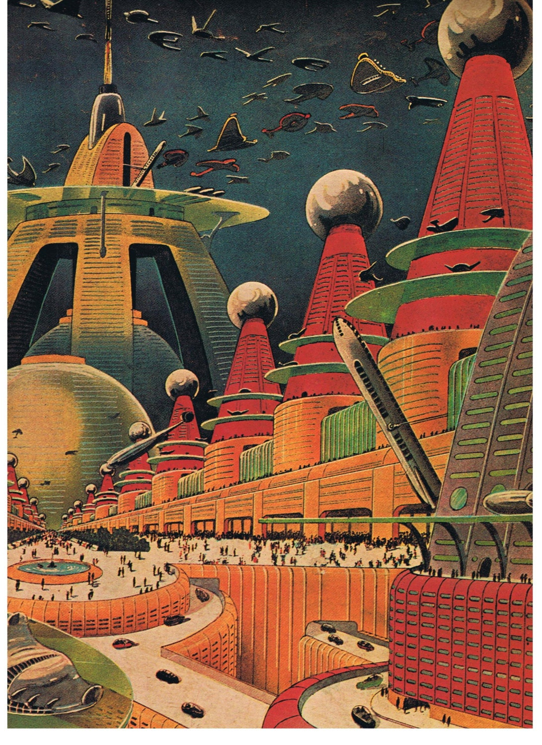 The Magnificent Science-Fiction Art Of Steven Messing ... |Science Fiction Graphics