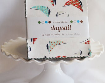 2 Moda Daysail Fabric Charm Packs by Bonnie and Camille for Moda Fabric