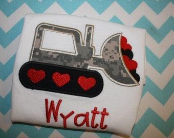 Valentine's Bulldozer
