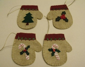 Felt Christmas Ornament Holiday Decoration