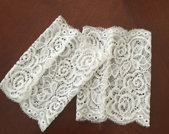 READY TO SHIP   Lace Boot Cuffs,  lace boot socks lace,Boot Toppers, Stockings. Boot Socks, boot accessories,   Stretchy, boot cuff
