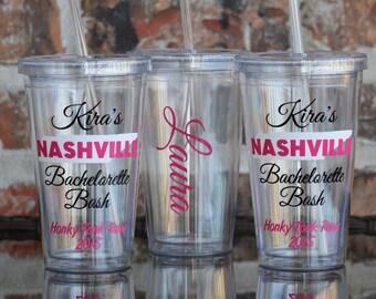 Nashville Tennessee Bachelorette Party Tumbler 16 ounce