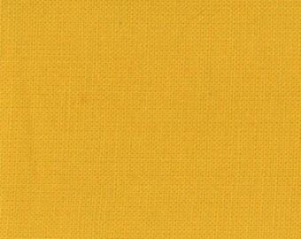 1/2 Yard - Bella Soild Saffron Yellow Fabric - 9900 232