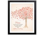 Personalized Grandparent Print -  Gift For Grandparent - Gift For Mimi And Papa - Gift From Grandkids - Any Color & Different Size