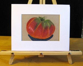 Tomato -Pencil Drawing