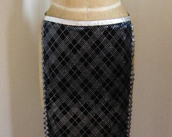 Bellydance panel skirt, tribal fusion