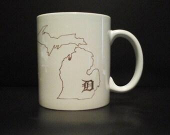 Detroit Tiger's coffee mug