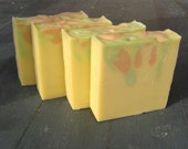 White Tea & Ginger scented cold process soap