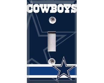 Dallas Cowboys Light Switch Cover