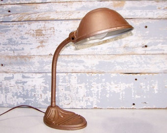 Vintage Art Deco Bakelite Head Board Lamp Clip By