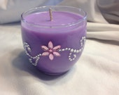 Add Rhinestones to Any Candle
