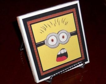 Minion coaster(made to order)