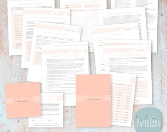 Photography Business Forms and Contracts -  NG002 - INSTANT DOWNLOAD