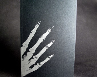 Skelton Sketchbook - Letterpress cover