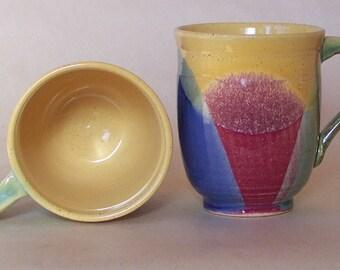 2 Large cup, mug