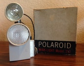 Polaroid Wink Light Model 252, Vintage Polaroid Wink Flash, Polarpid Flash in box