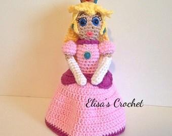 Princess Peach Nintendo Amigurumi doll