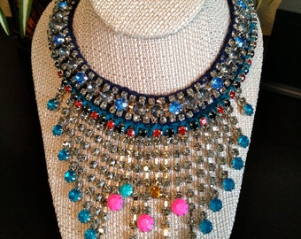 CLEARANCE // Rio Collection Follies Celebration Crystal Necklace