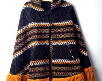 Native American Inspired Vintage Cape