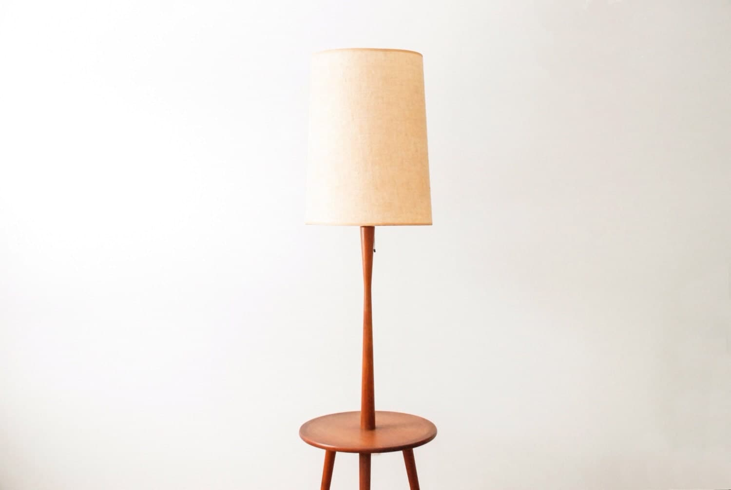 Mid century floor lamp floor table lamp modern floor lamp for Floor lamp with table