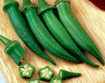 75 - Heirloom Okra Seeds - Clemson Spineless Okra - Heirloom Vegetable Seeds, Clemson Okra Seeds, Spineless Okra Seeds, Non-gmo Okra Seeds