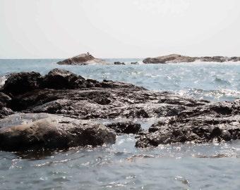 Newport, RI seascape photograph, nature photography, Atlantic ocean