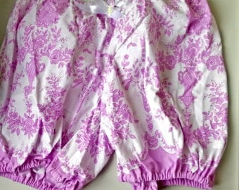 Fashionable vintage cotton Bloomer style shorts Ready to ship One of a kind Sleeping,Festival shorts Fun summer shorts Made by JolantaPF