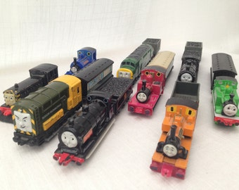 Vintage Collection Of 15 Thomas The Tank Engine Amp Friends