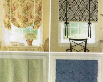 WINDOW TREATMENTS Butterick Pattern 5159