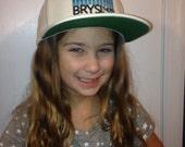 BrySi - White Snapback - BluEQ