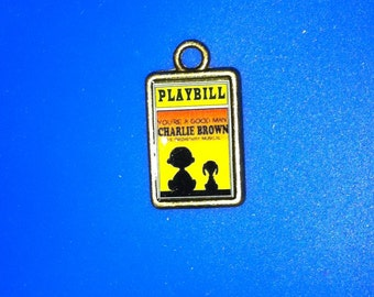 Theater / Show Charm - Playbill Play Bill - You're A Good Man Charlie Brown