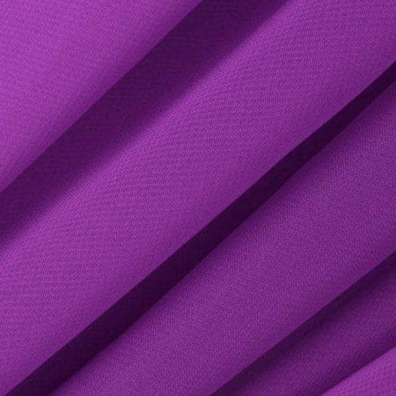 Chiffon purple fabric sold by the yard 3010 for Purple baby fabric