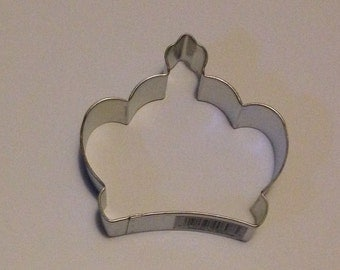 "3.5"" Imperial Crown Cookie Cutter"