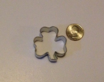 "1.5"" Mini Shamrock Cookie Cutter"