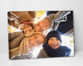 Photo print to canvas. Gallery Wrapped Canvas. Cotton canvas. Wall decor. Stretched canvas. Framed canvas print. Photo portrait.