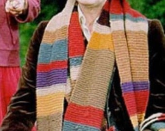 Tom Baker's Doctor Who Scarf paid by the foot