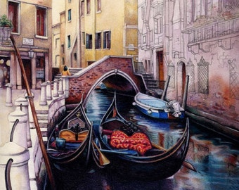 """Venice canal 