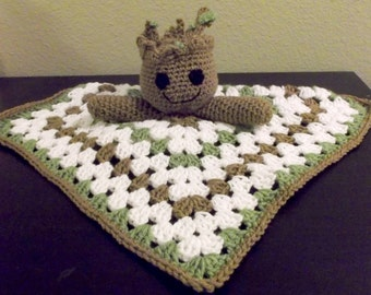 Baby Groot Guardians of the Galaxy Snuggle Buddy Baby Security Blanket