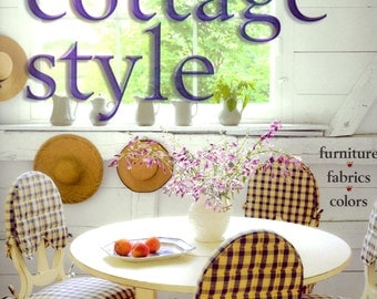 Better Homes and Gardens Cottage Style  Hardcover Book Furniture Fabrics Colors