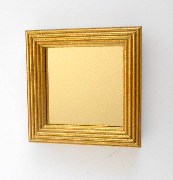 Gold Square Wall Decor : Home interiorready to shipdecorative wall square by