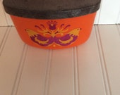 Reserved/Rosti denmark mepal salt box/ recipe box/ tea box/ tea bag holder/ folk danish modern box/ vintagebrowns