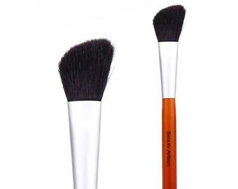Fyfine Wood Series 2 # angled blush brush Fine wool brushes
