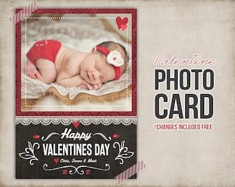 Valentine Card - Photo Valentine - Digital Valentine Card - Printable - Photo Card Custom Personalized for You