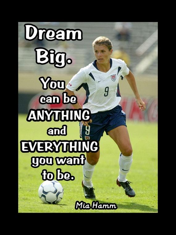 Mia Hamm Big Quotesd. QuotesGram