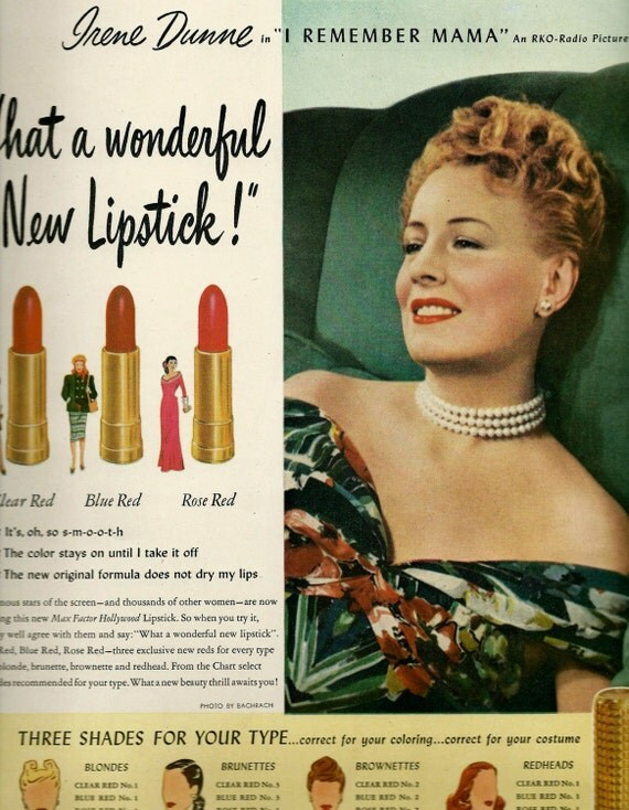 1940s Makeup Ads - Mugeek Vidalondon