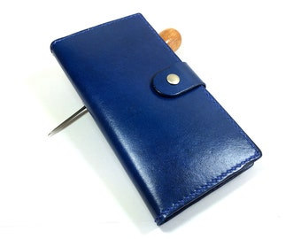iPhone 6S Plus  wallet- Leather iPhone 6S case- Handmade iPhone 6 case