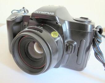 Olympus OM101 Power Focus Film Vintage Camera. Battery tested