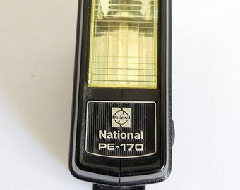 Vintage National PE-170 Hot Shoe Flash for Film Cameras