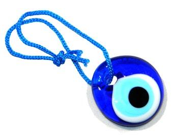 3cm Lucky Evil Eye Nazar Boncuk Turkish / Greek Glass Eye Hanging