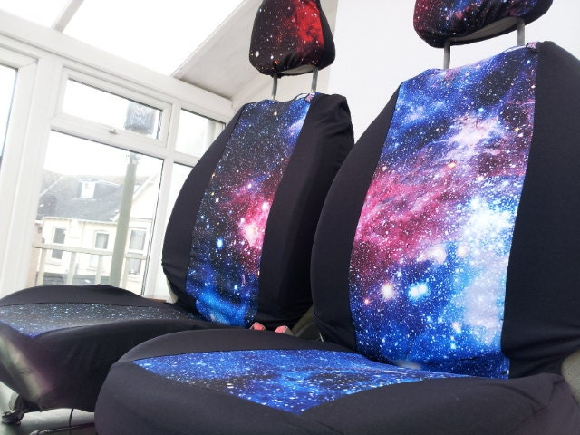 Galaxy Print Car Seat Covers